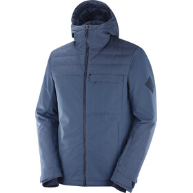 Salomon Deepsteep Chaqueta Hombre, dark denim/night sky